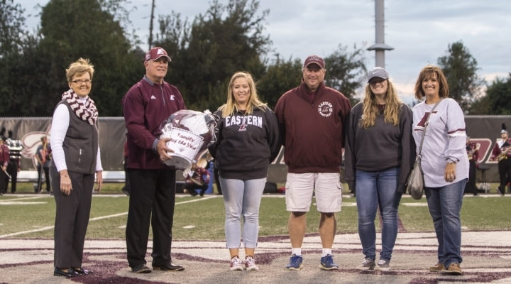 2016 EKU Family of the Year, presented by Dr. Laurie Carter
